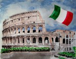 Fußball in Italien - Colosseum_abseits.at