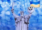 Fußball in der Ukraine - Statue_abseits.at