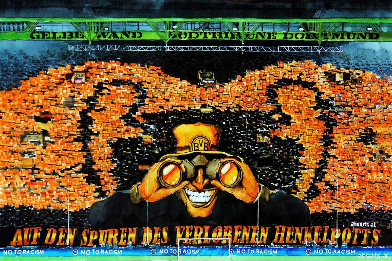 Gelbe Wand Dortmund_abseits.at