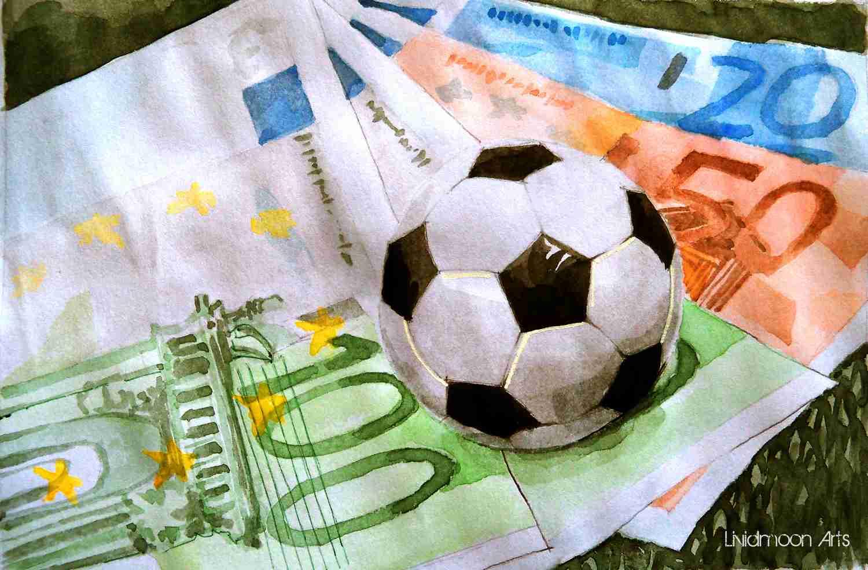_Geld Euros Fußball