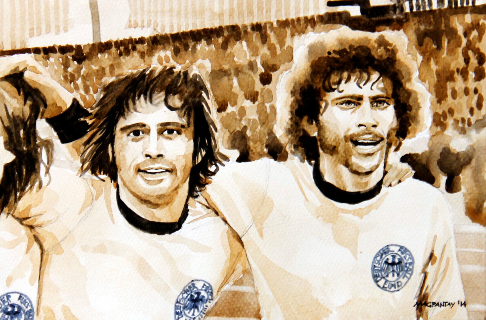 Weltmeisterschaft 1974 Als Der Terrier Den Besten Spieler