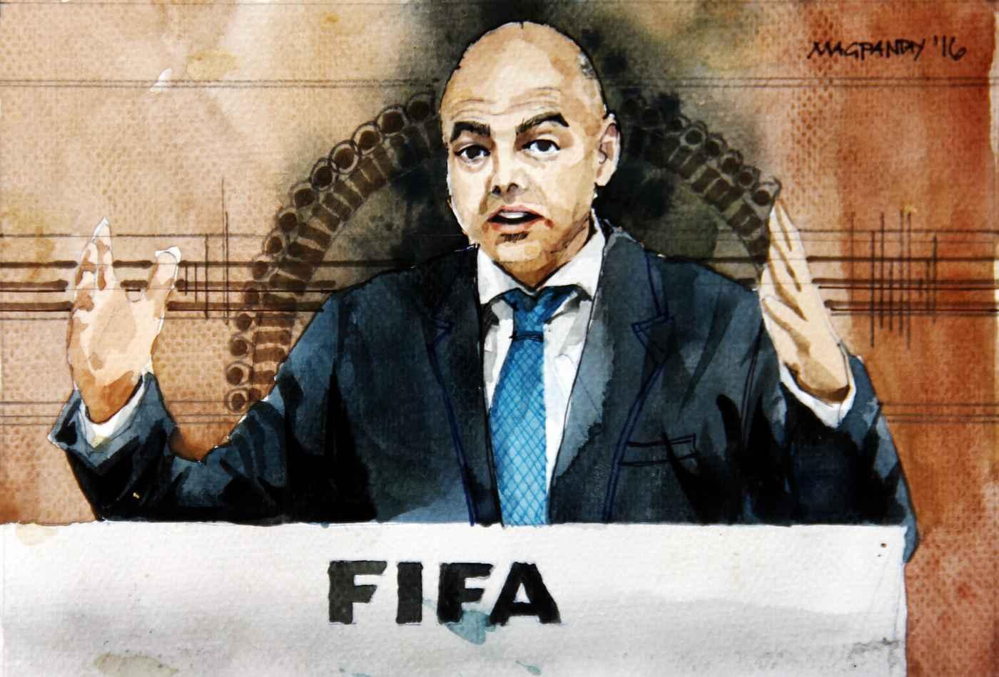 _Gianni Infantino - FIFA