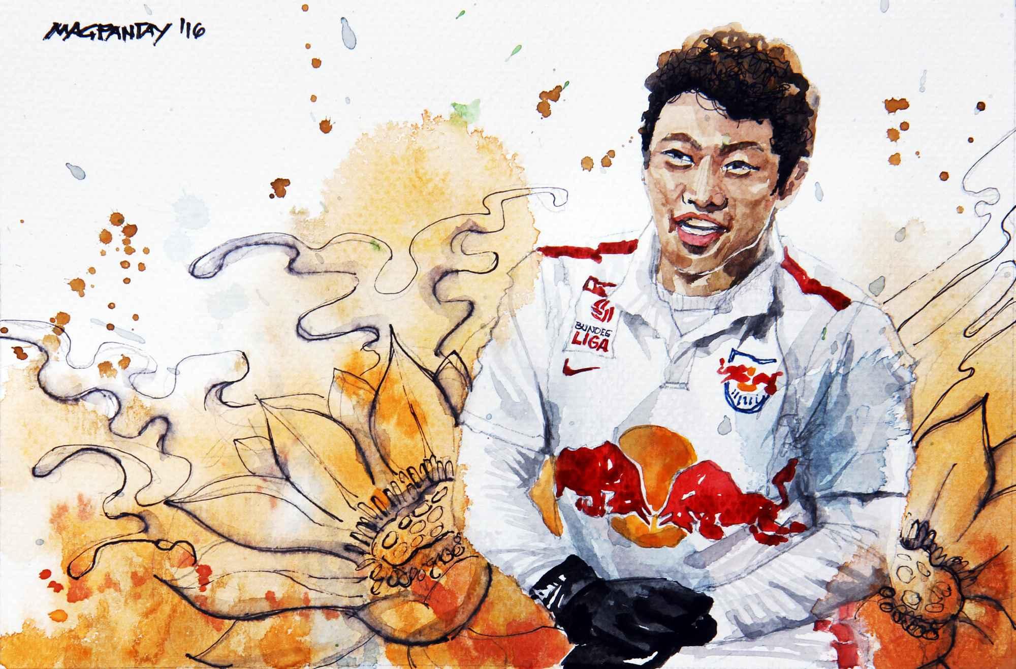 _Hee Chan-Hwang - Red Bull Salzburg
