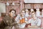 Im Pub mit Freunden - Bier - TV_abseits.at