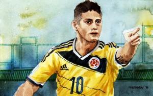 James Rodriguez ist der nominelle Di-María-Ersatz, allerdings ein völlig anderer Spielertyp.