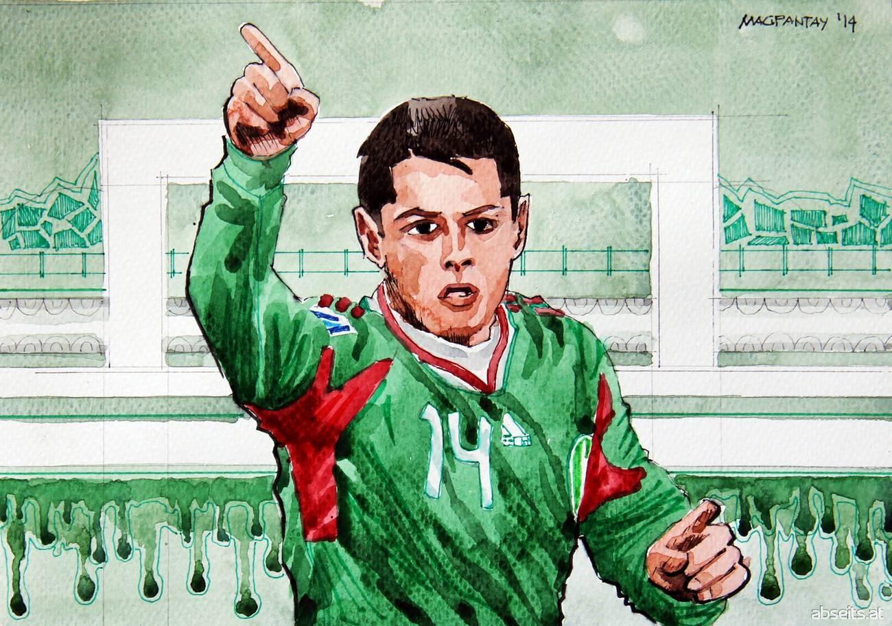 Javier Hernandez Chicharito - Mexiko_abseits.at