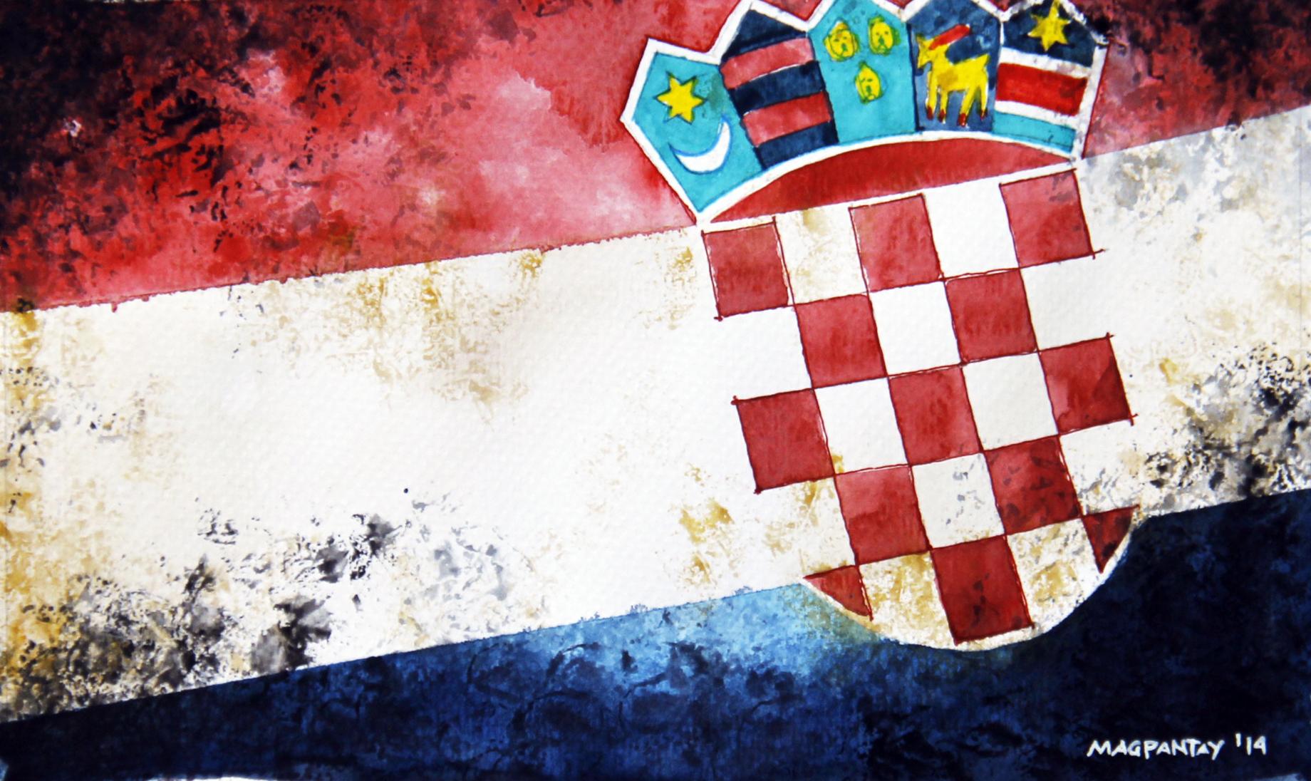 kroatien flagge wallpaper