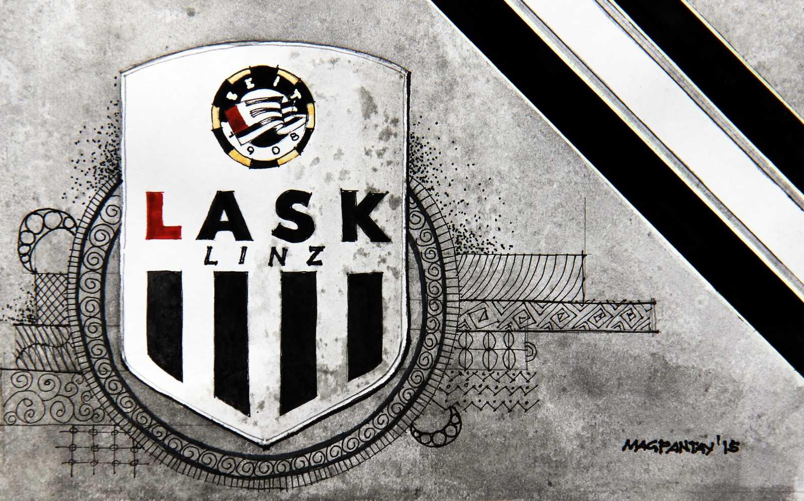 _LASK Linz Wappen Stripes