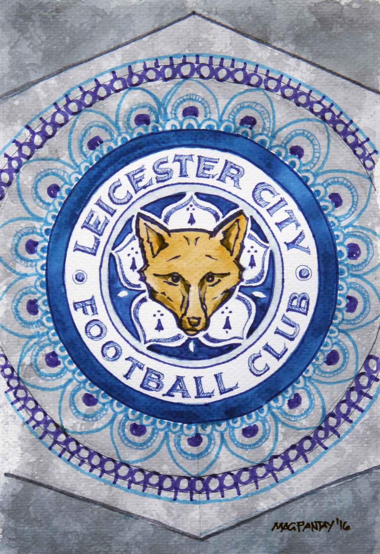 _Leicester City - Wappen, Logo