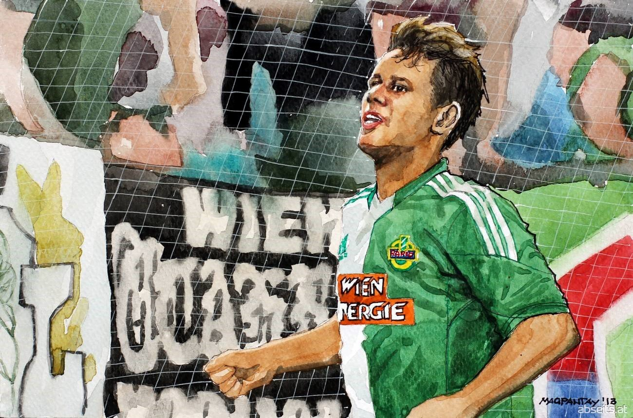 Louis Schaub - SK Rapid Wien_abseits.at