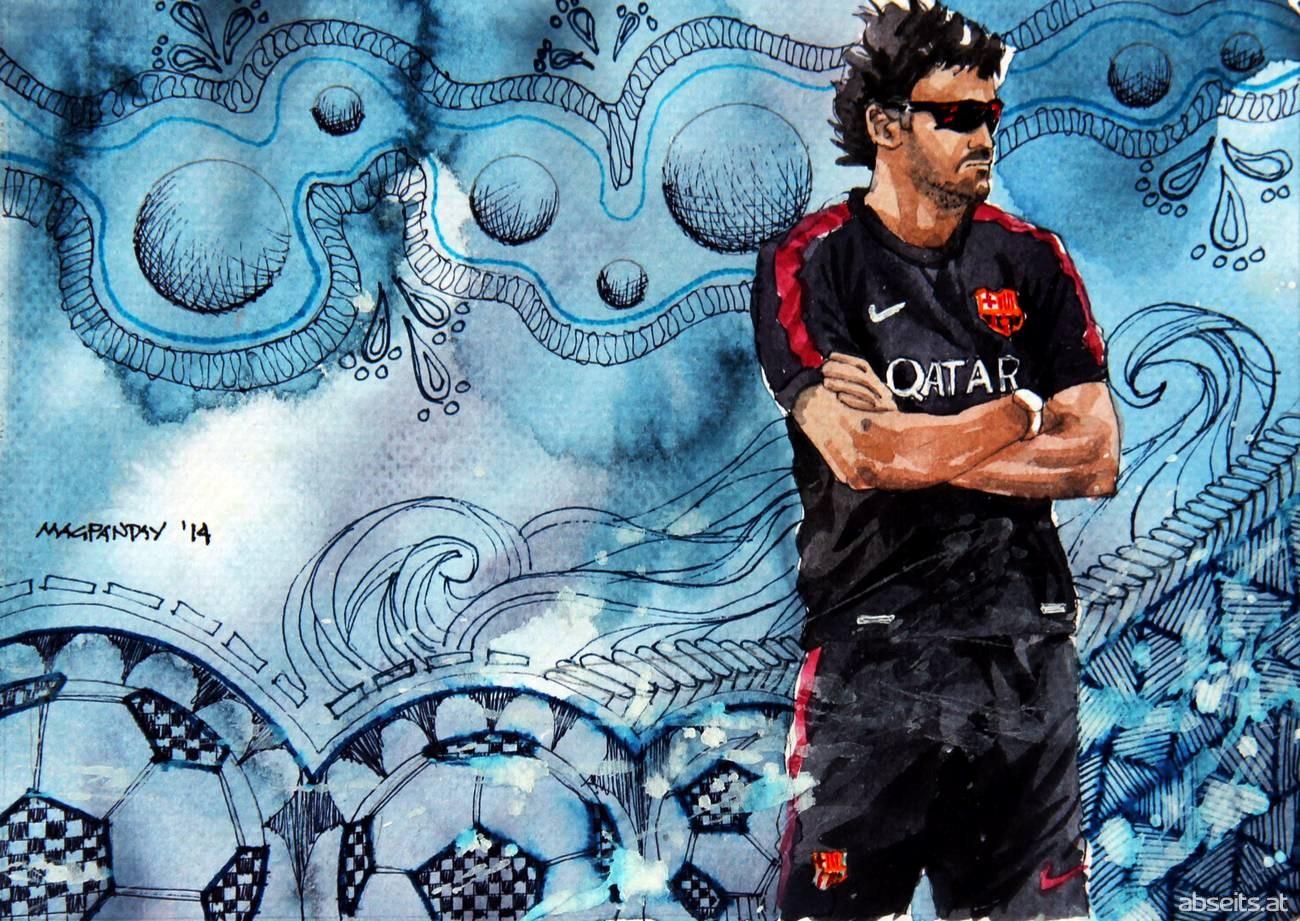 Luis Enrique - FC Barcelona_abseits.at