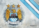 _Manchester City Wappen Stripes