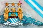 Manchester City - Wappen mit Farben