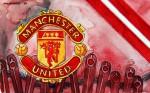 Manchester United - Wappen mit Farben