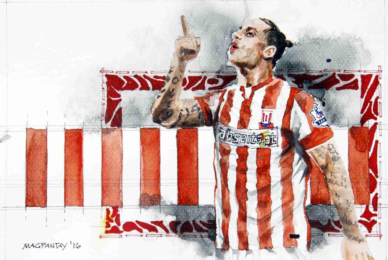 _Marko Arnautovic - Stoke City