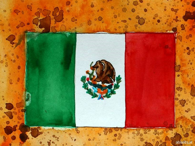 Mexiko Flagge_abseits.at