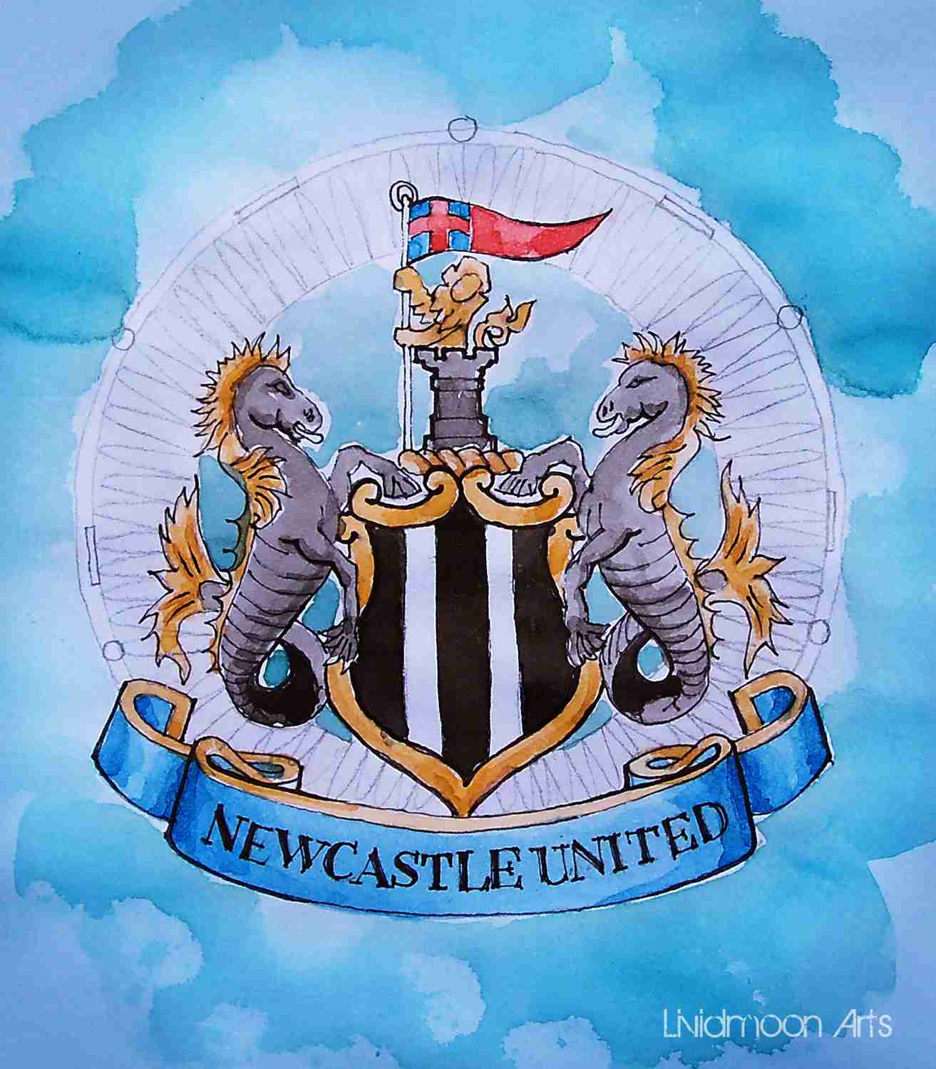 _Newcastle United Wappen