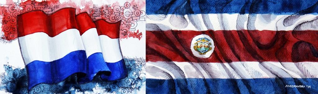 Taktikticker/Spielfilm: Niederlande – Costa Rica 0:0 (4:3 n.E.)