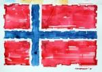 _Norwegen Flagge
