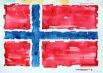 Norwegen Flagge_abseits.at