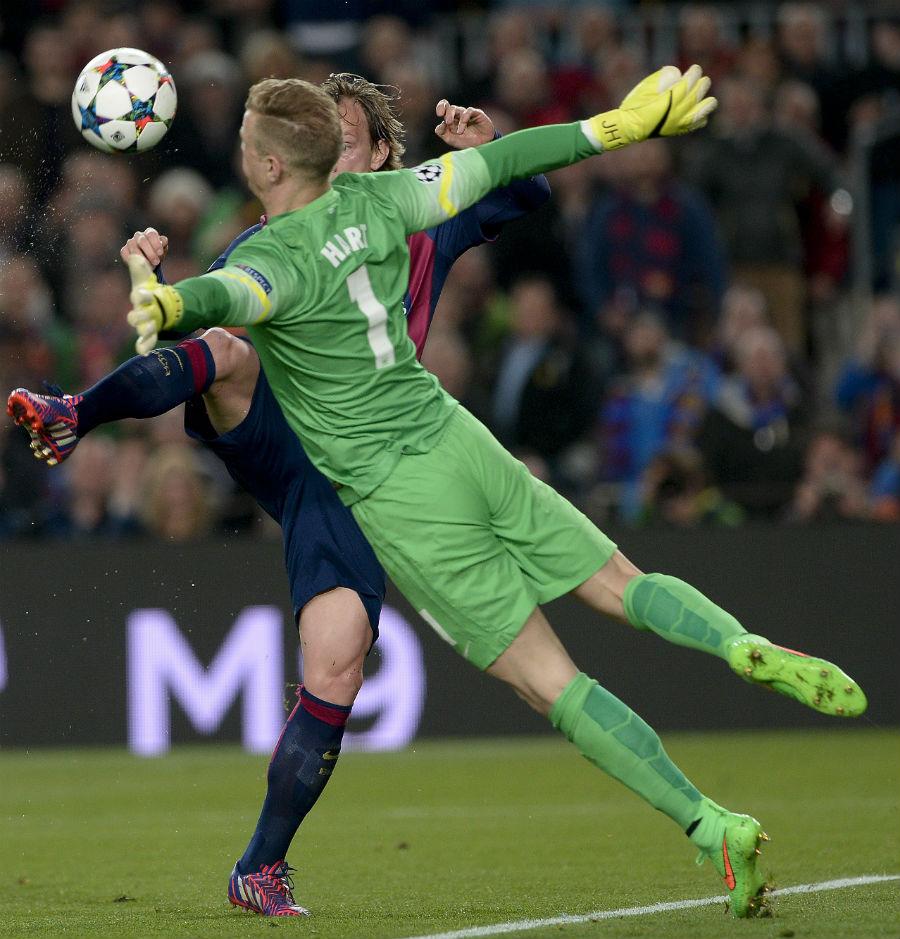 Original - Joe Hart vs Barcelona