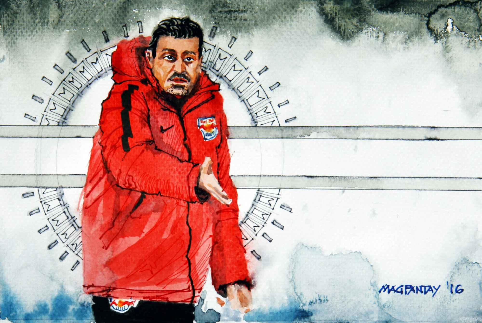 _Oscar Garcia - Red Bull Salzburg