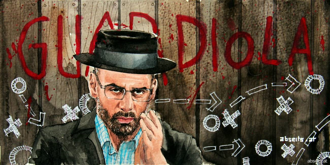 Pep Guardiola als Heisenberg_abseits.at