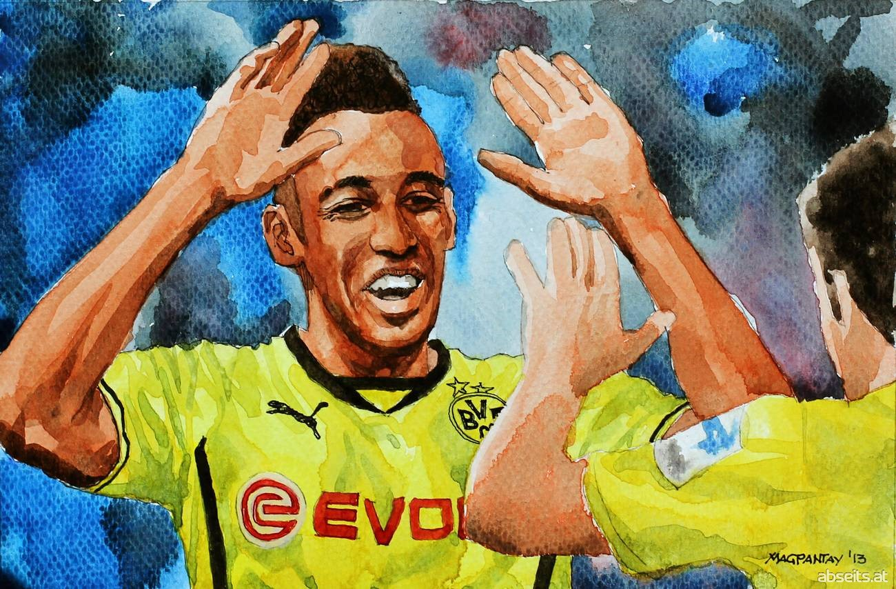 Pierre-Emerick Aubameyang - Borussia Dortmund_abseits.at