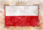 _Polen Flagge