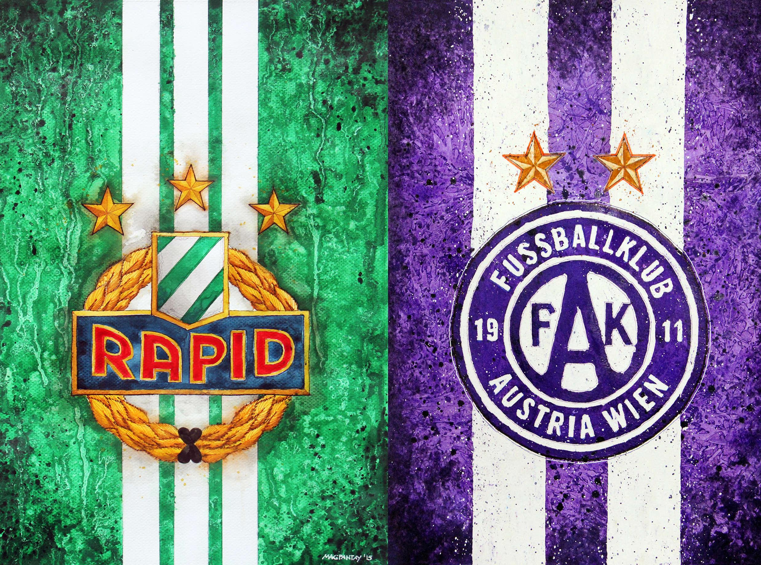 Rapid Austria Wiener Derby