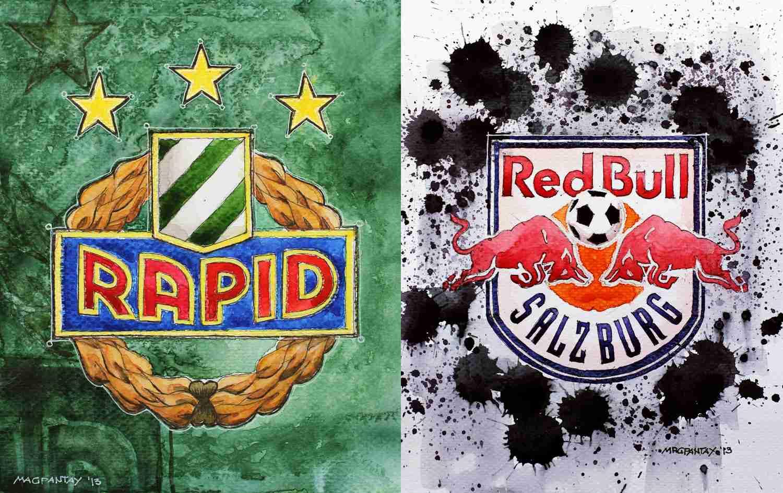_Rapid gegen Red Bull Salzburg