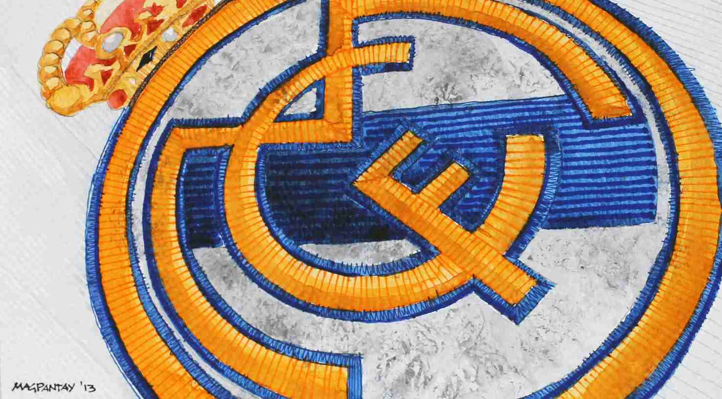 _Real Madrid Vereinswappen Logo