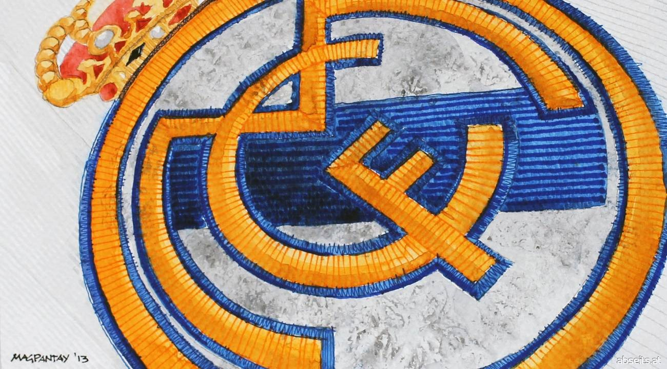 Real Madrid Vereinswappen Logo_abseits.at