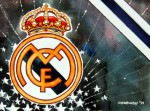 Real Madrid - Wappen mit Farben