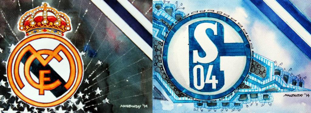 Taktikticker/Spielfilm: Real Madrid – FC Schalke 04 3:4