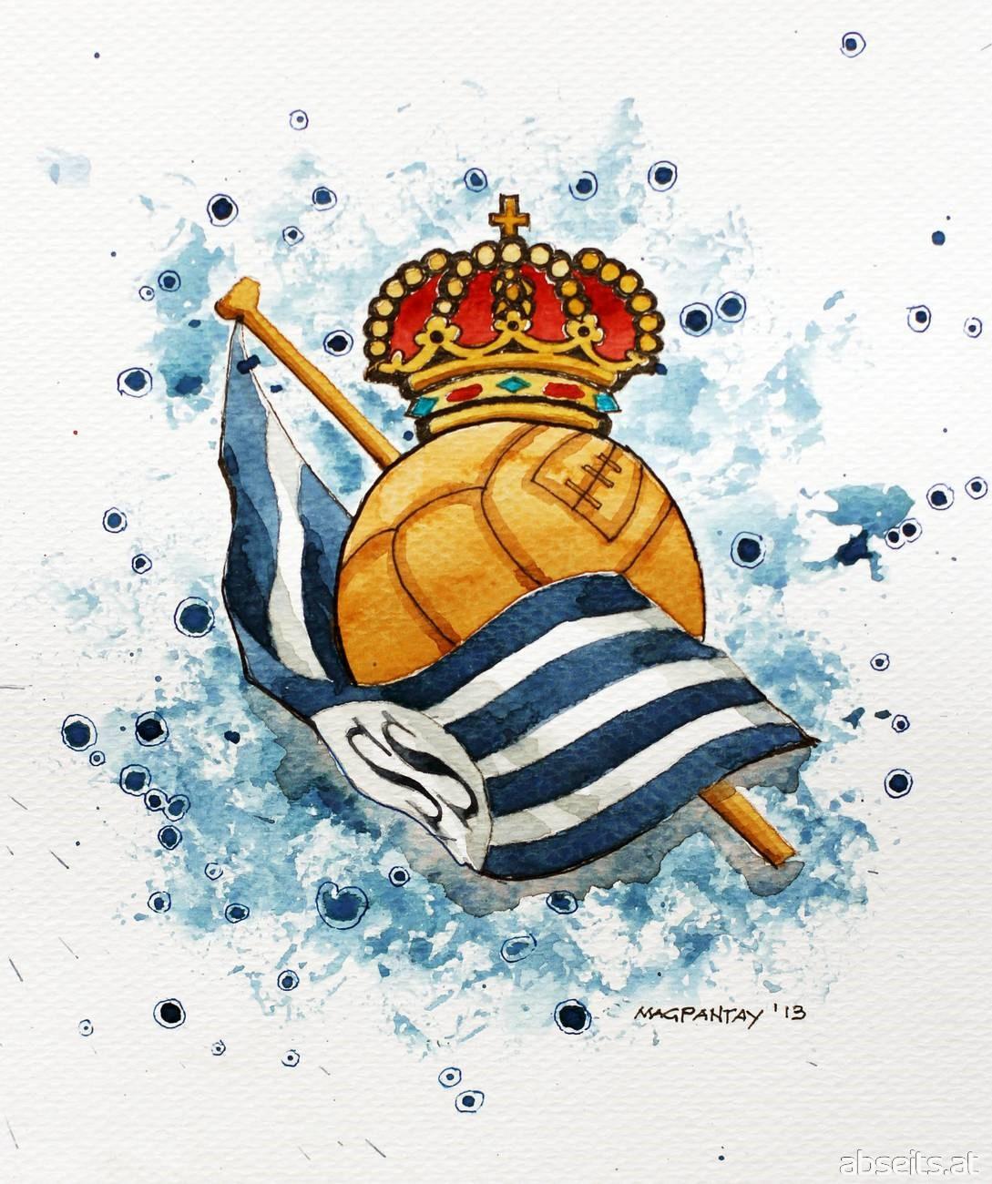 Real Sociedad Wappen Logo_abseits.at