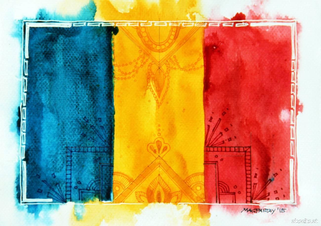 Rumänien Flagge_abseits.at