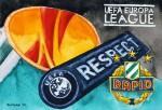 SK Rapid Wien Wappen Logo Europa League
