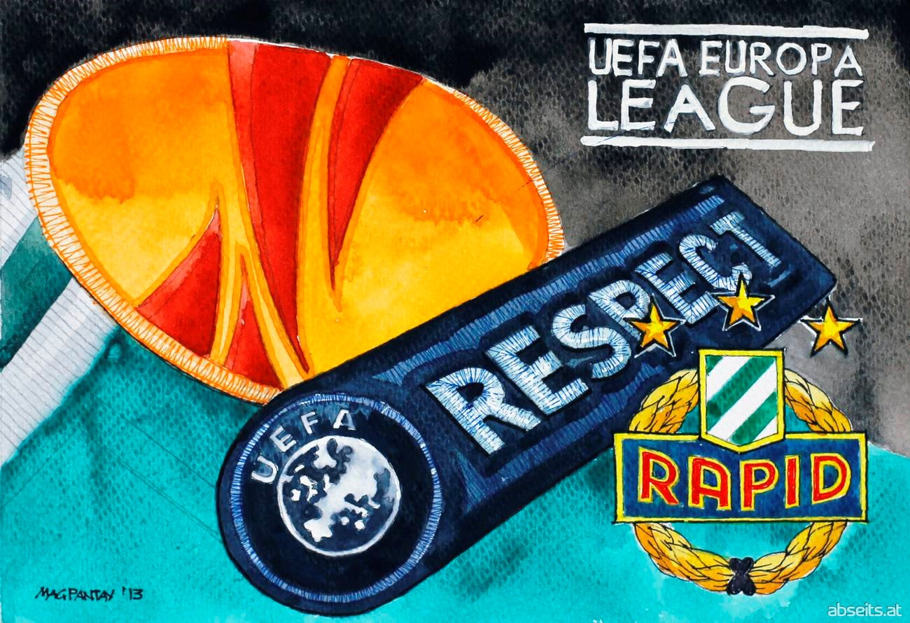 SK Rapid Wien Wappen Logo Europa League_abseits.at