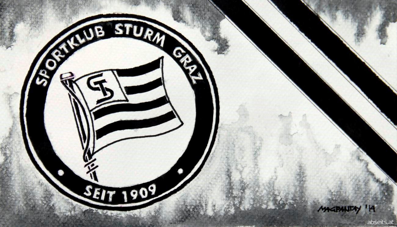 SK Sturm Graz - Wappen mit Farben_abseits.at