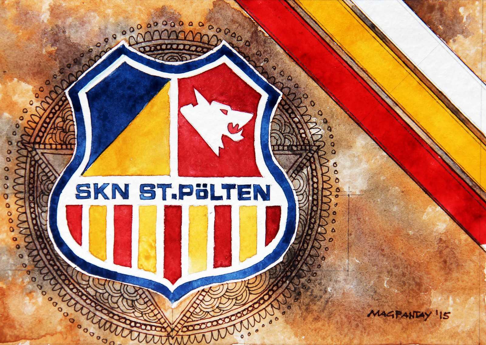 _SKN St.Pölten Wappen Stripes