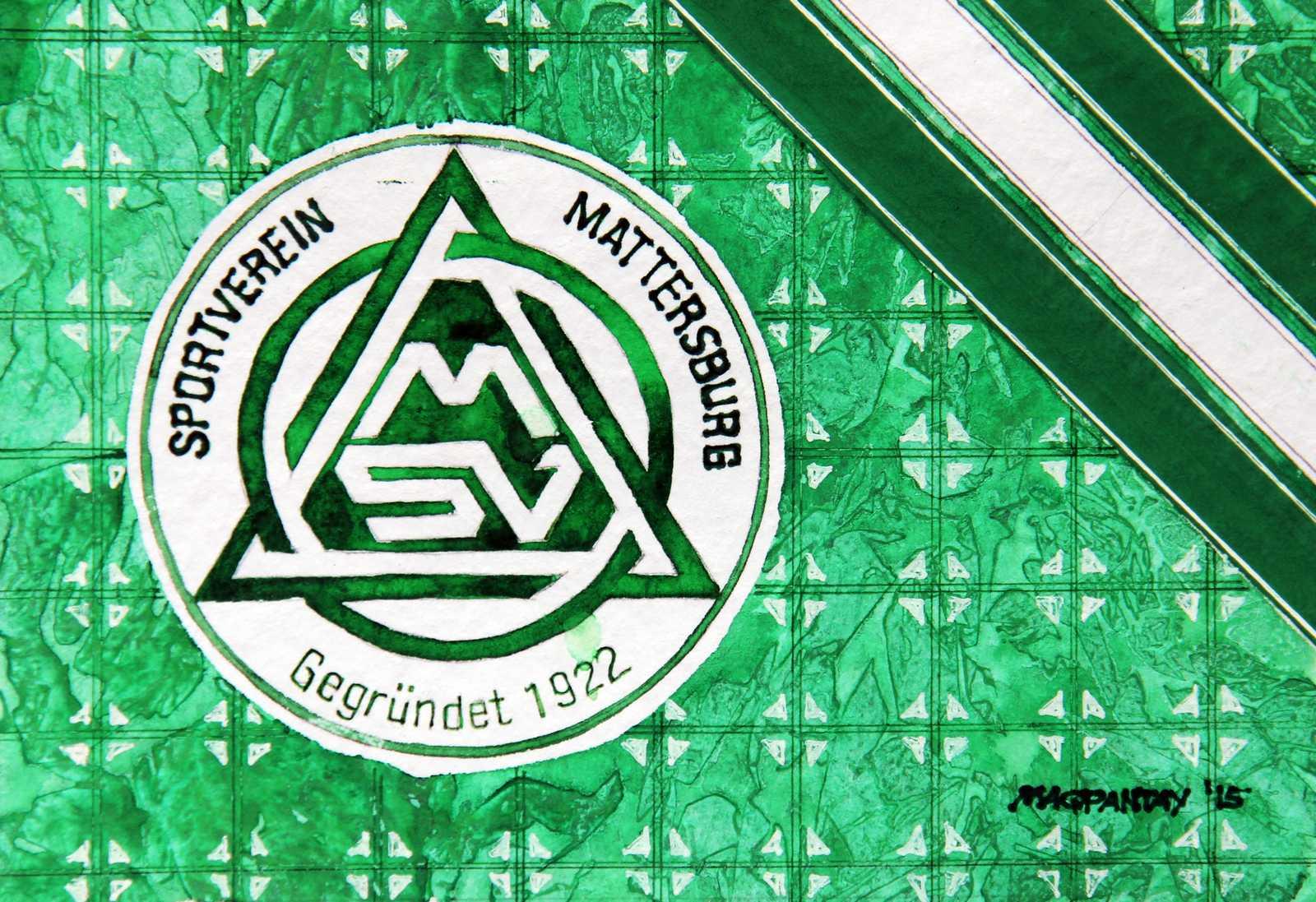 _SV Mattersburg Wappen Stripes