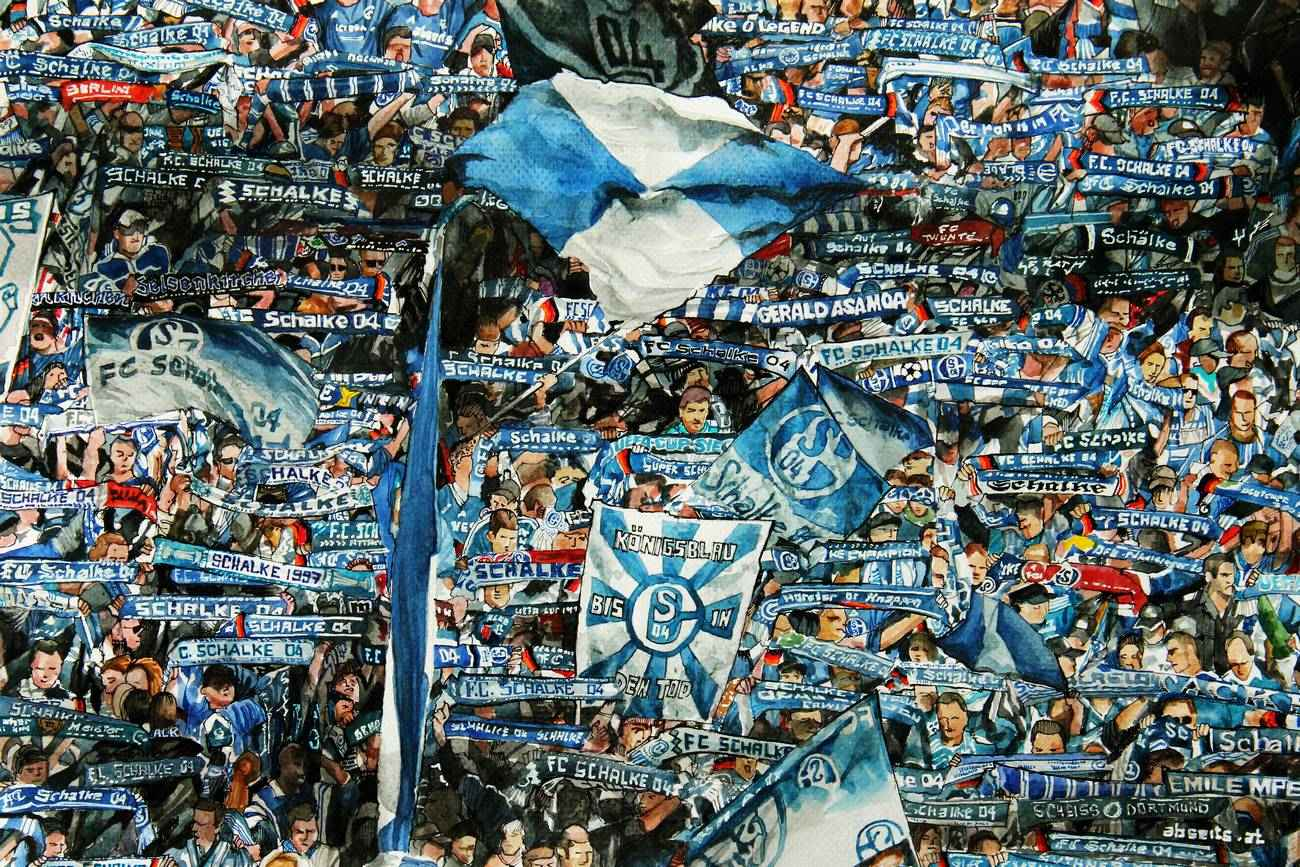 _Schalke 04 Fantribüne