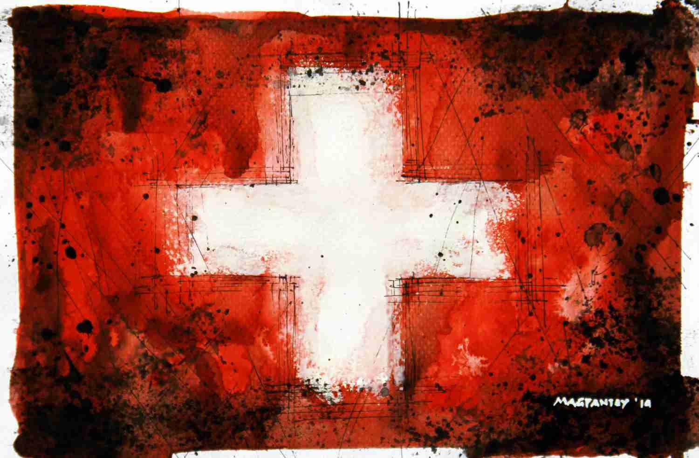 _Schweiz - Flagge