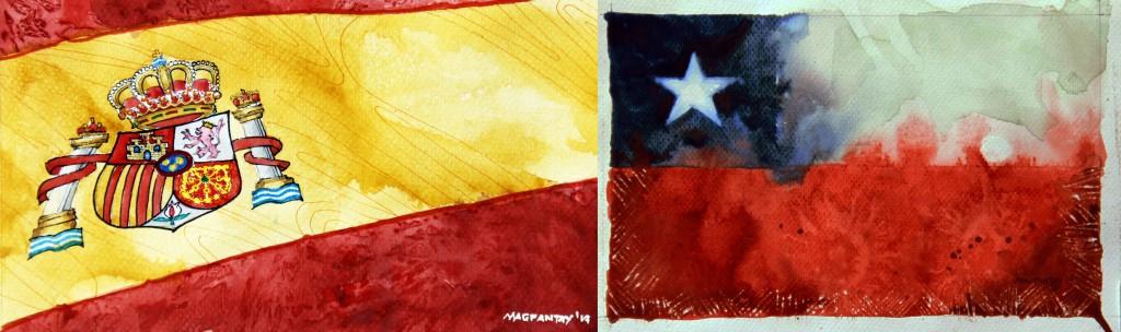 Spielfilm/Taktikticker: Spanien – Chile 0:2