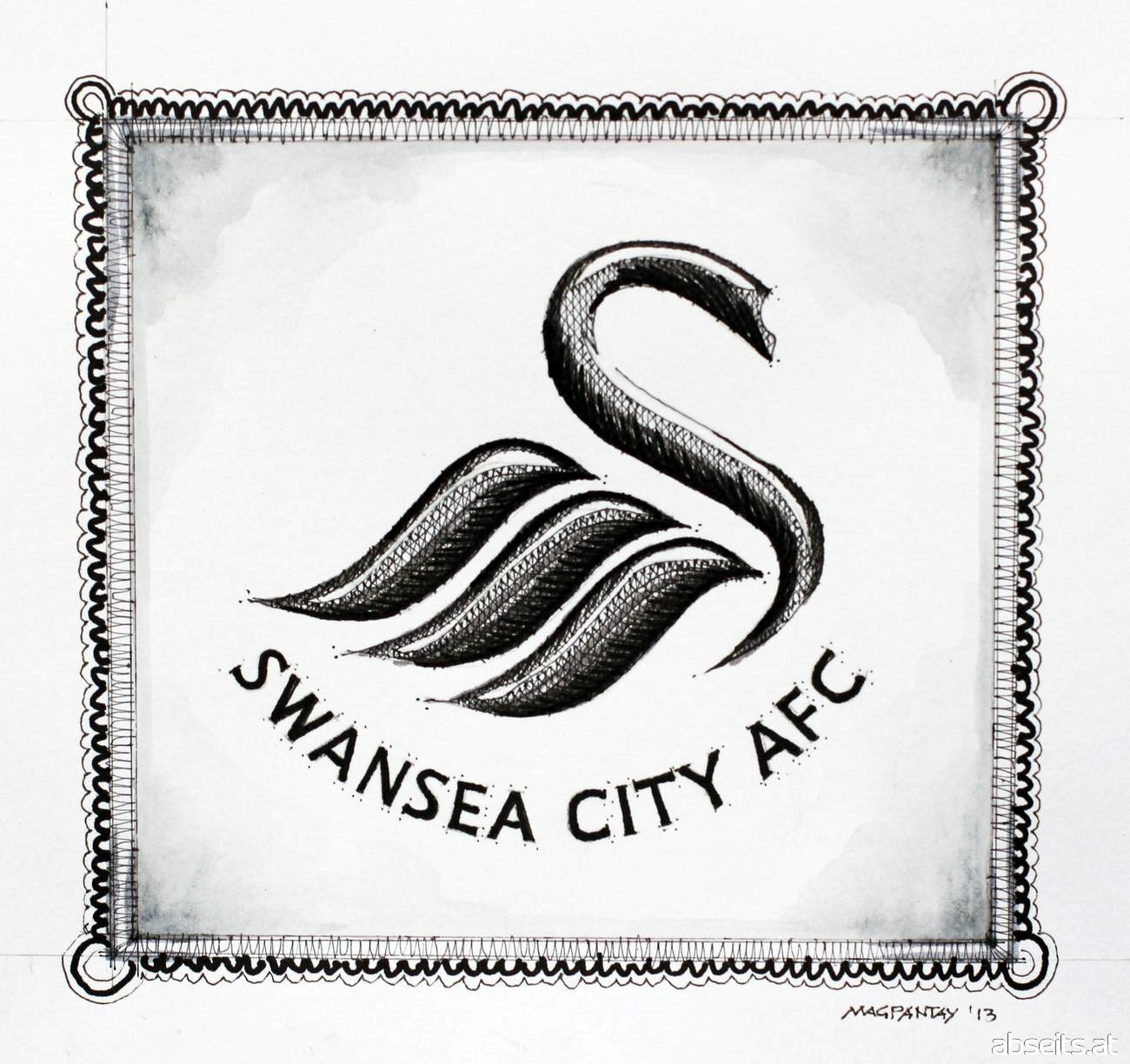 Swansea City Wappen Logo_abseits.at