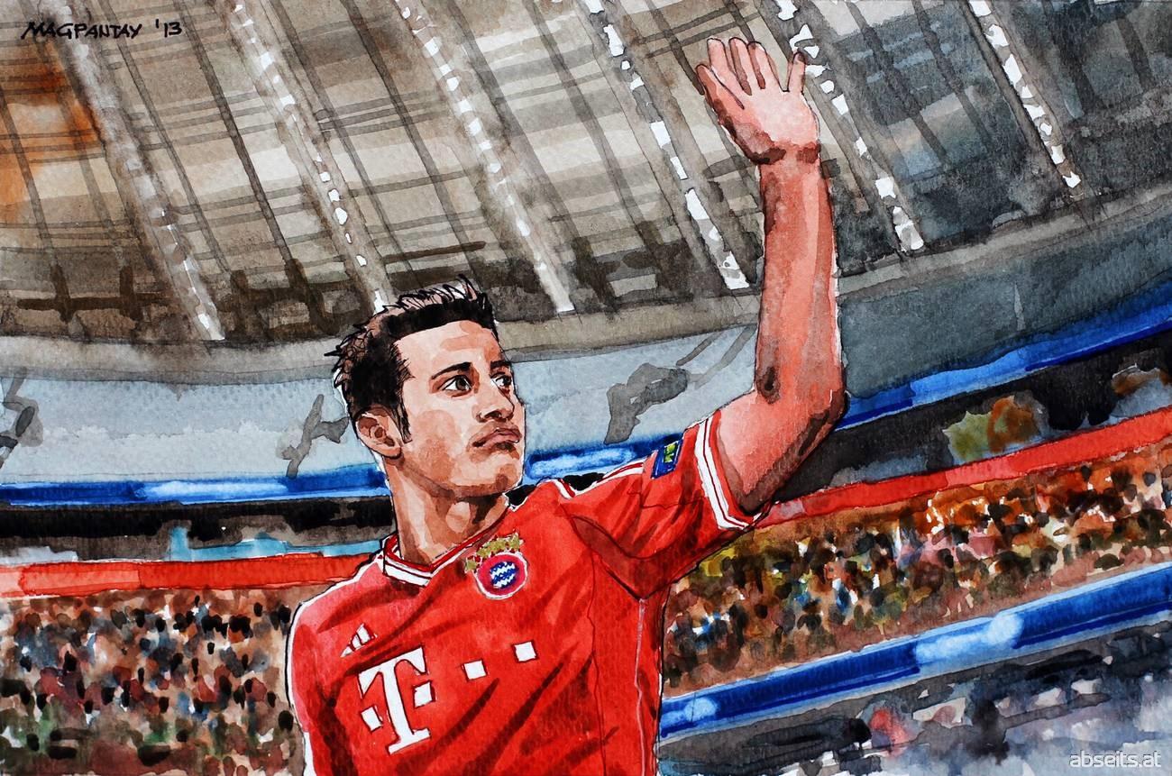 Thiago Alcantara - FC Bayern München_abseits.at