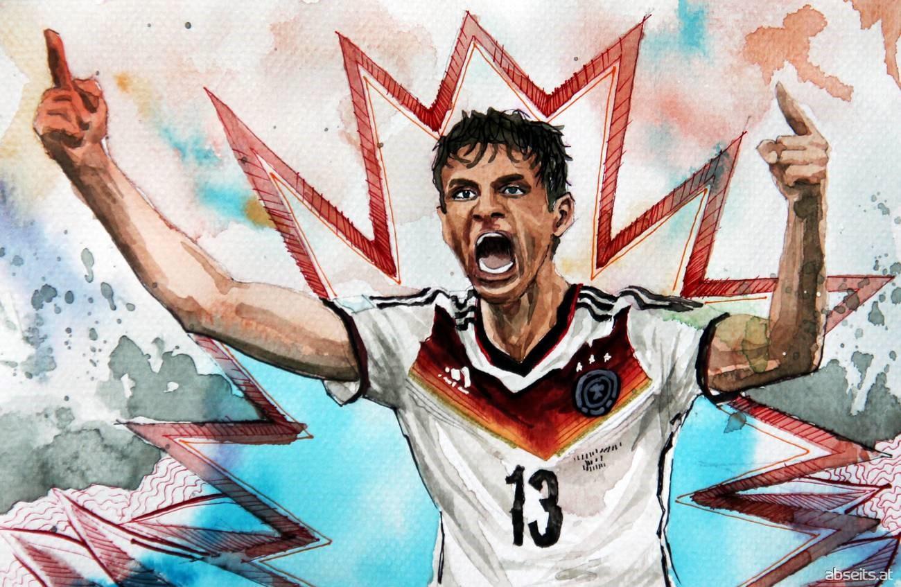 Thomas Müller - Deutschland, FC Bayern München_abseits.at