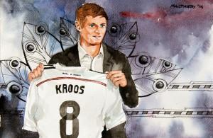 Eine zentrale Rolle im Real-Mittelfeld spielt der Deutsche Toni Kroos.