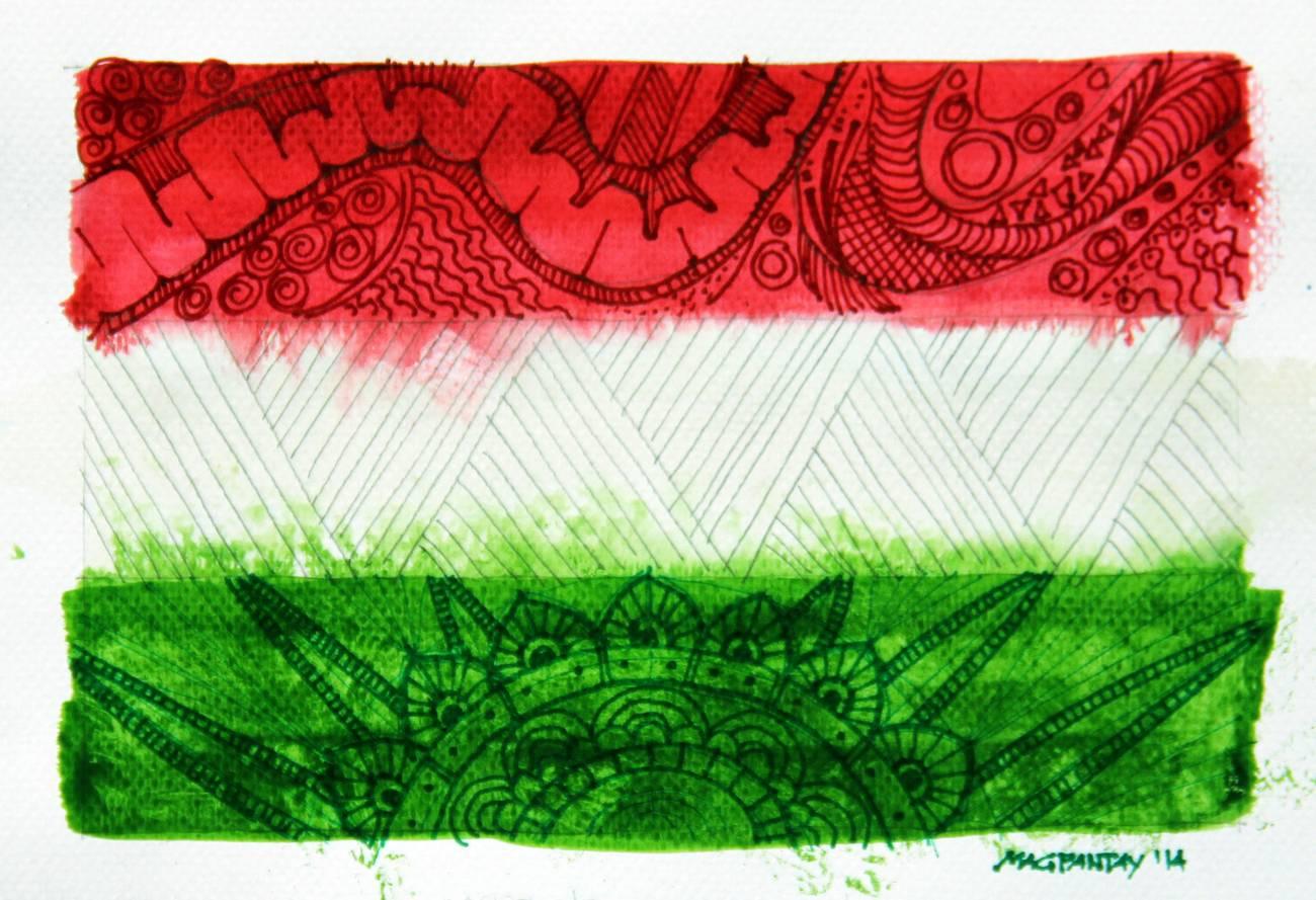 _Ungarn Flagge